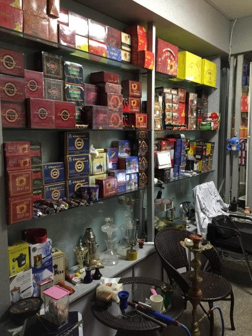 阿拉伯水烟实体店 义乌
