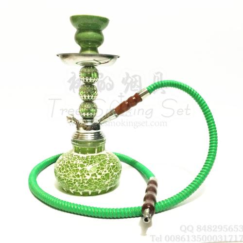 铁合金/亚克力/树脂/水晶/玻璃/景泰蓝等混合材质的阿拉伯水烟壶